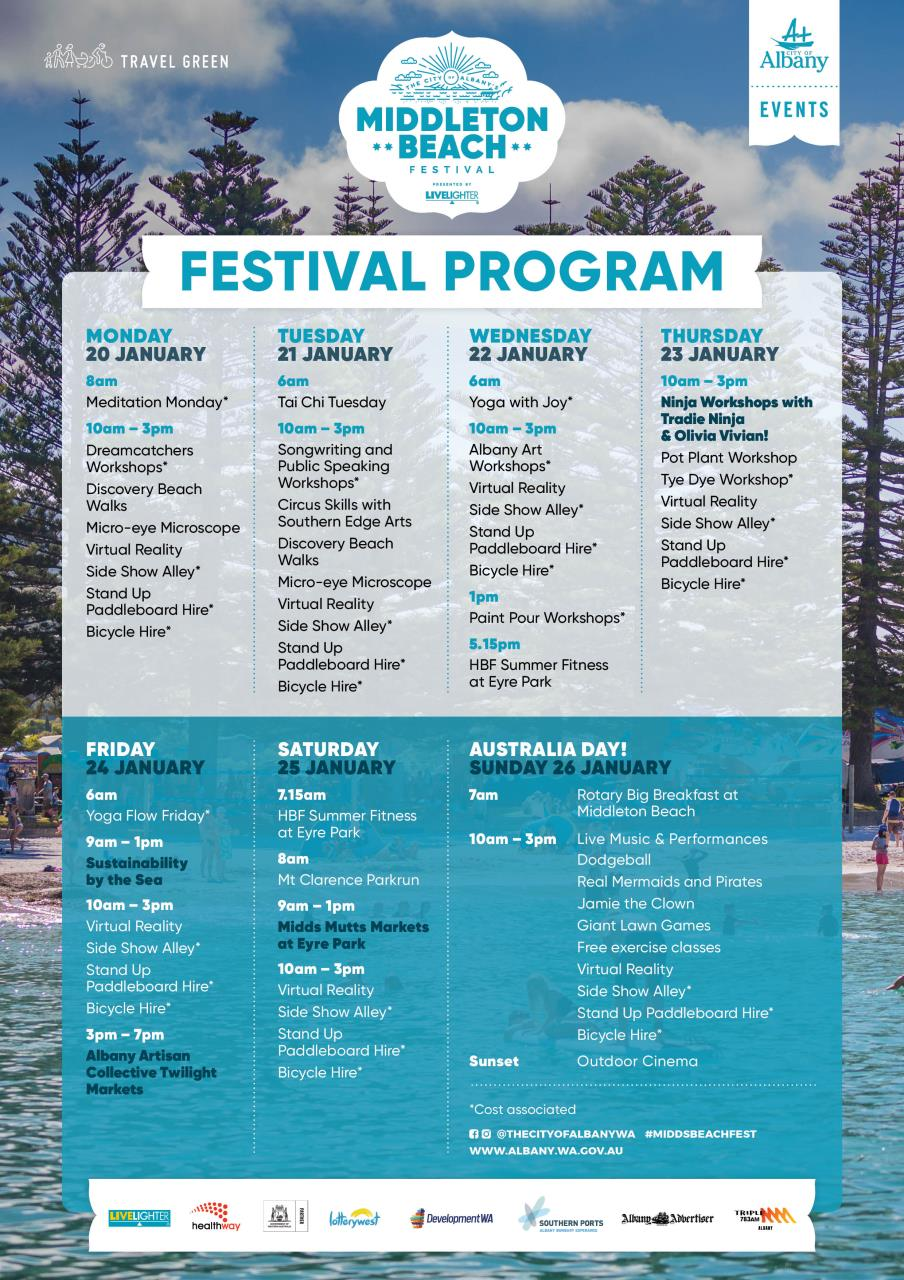 Middleton Beach Festival 2020 Program